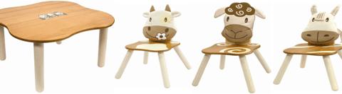 Cutie sheep table