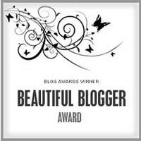 The Beautiful Blogger Award from Vaishnavi