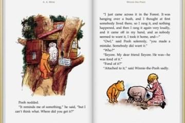 Winnie the Pooh on iPad
