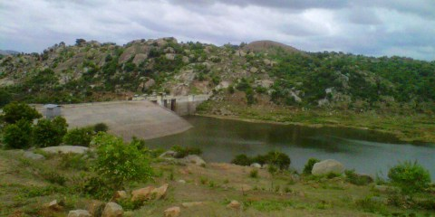 Snubnose visited Manchinebele Dam recently