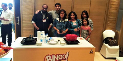 Our team - The Bingo Blasters