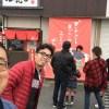 愛知から友人が来てくれた。