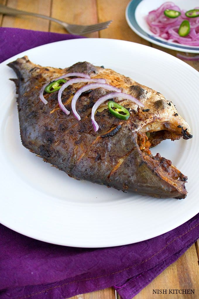 how to make spicy grilled fish