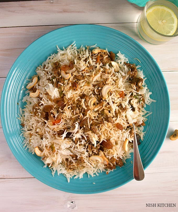 keema biryani recipe