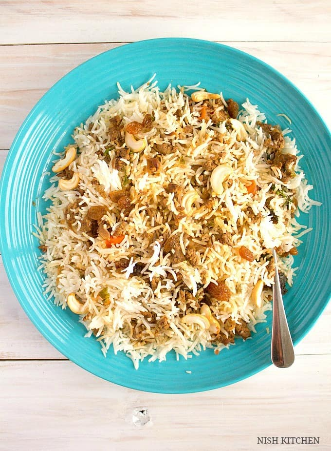 how to prepare keema biryani