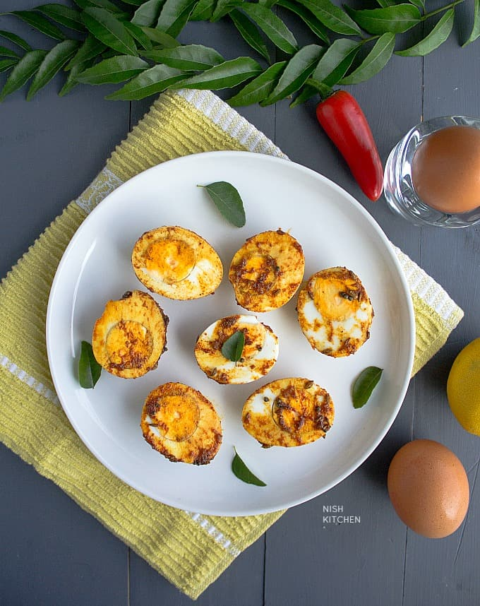 egg masala fry video