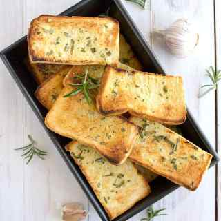 easy homemade garlic bread