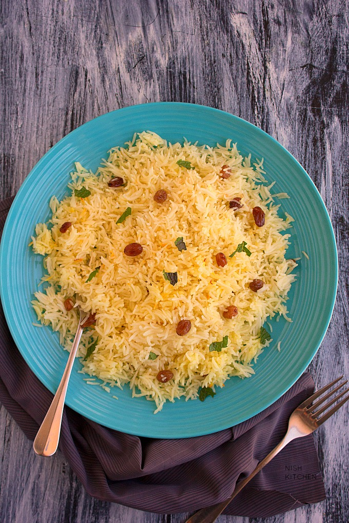 Saffron rice video