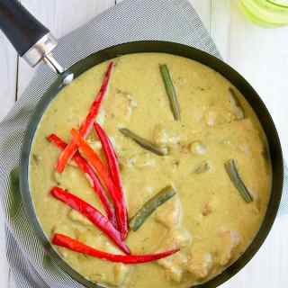 thai green chicken curry recipe with video