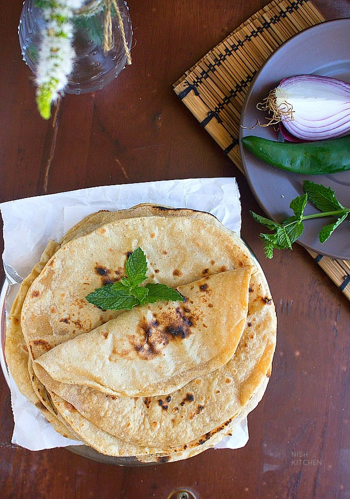 indian roti recipe