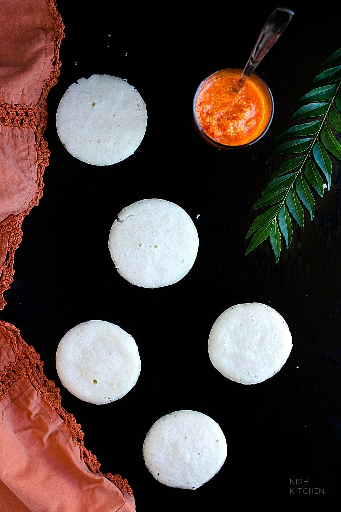 south indian soft idli recipe