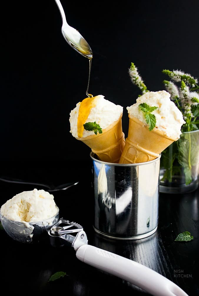homemade rabri ice cream recipe video