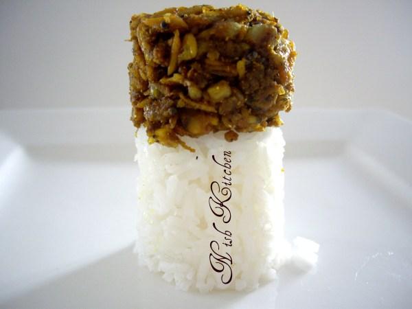 Kakkayirachi Thoran/ Cockle Meat Stir Fry