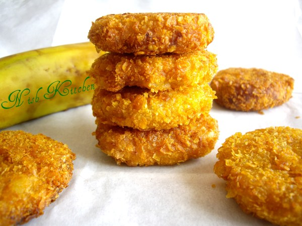 sweet banana cutlet / vazhapazham cutlet