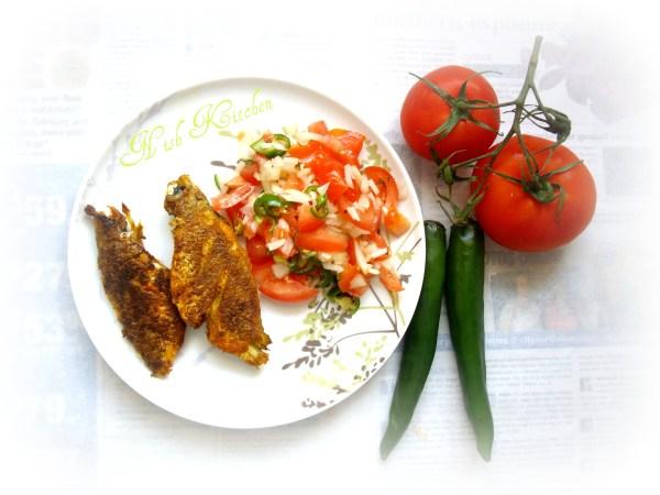 Tomato and Onion Summer Salad