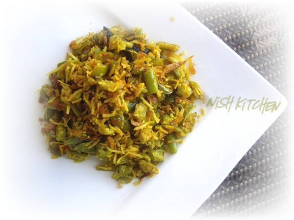 Ivy Gourd and Shrimp Stir Fry