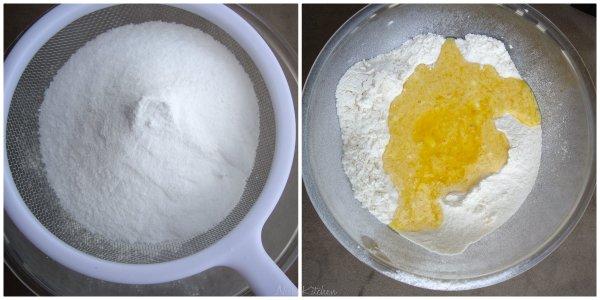 Dry ingregients for tea cake
