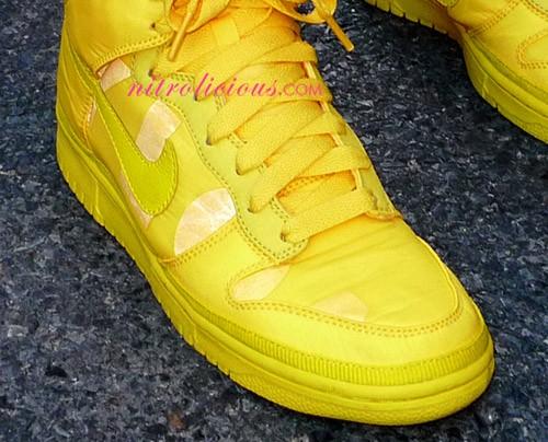Nylon Magazine x Nike Sportswear Dunk High - Yellow