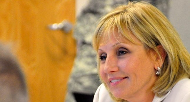File photo of Lt. Governor Kim Guadagno.