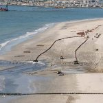 A beach replenishment project in Avalon on Seven Mile Beach, Cape May County. (Photo courtesy of the Jersey Shore Partnership)