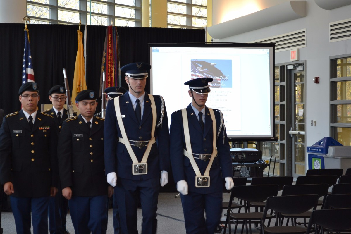 Veteran's Day Celebration at NJIT: Something Worth Fighting For