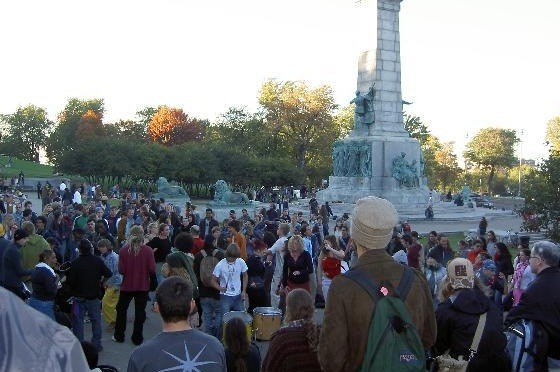 Montreal Tam Tam Sundays, a descendant from those 1967 Love-ins