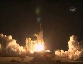Space Shuttle Endeavour STS 130 Successful Launch Video