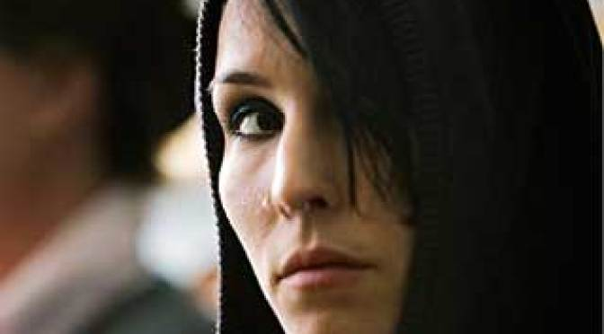 Noomi Rapace in The Girl With the Dragon Tattoo  Music Box Films