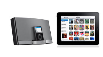 Bose Sounddock Portable and Apple iPad, a great combination