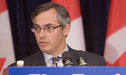Tony Clement, Minister of Industry and Commerce.