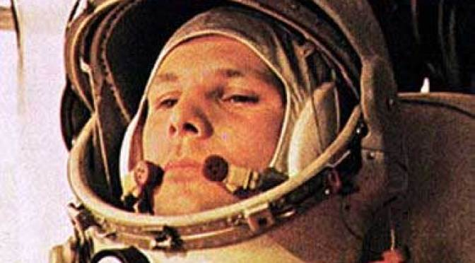 Yuri Gagarin, first man in space (picture www.aerospaceguide.net )