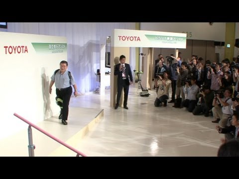 Thank you Toyota for inventing the walking robot