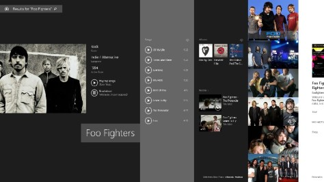 Charms Search Foo Fighters - addictive rich media and text results