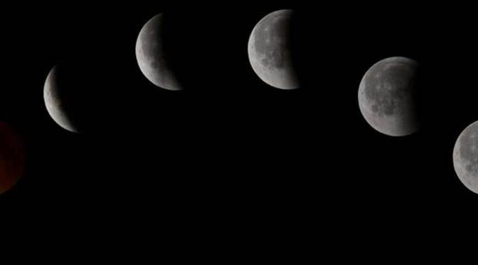 So You Missed It Images Eclipse of the Blood Moon 2014
