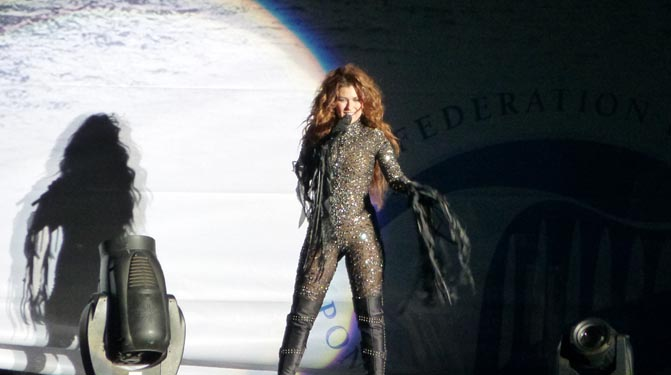 Shania Twain Rocks PEI With Vegas Show