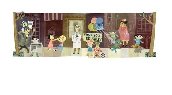 Thank You Dr. Jonas Salk For Polio Vaccine