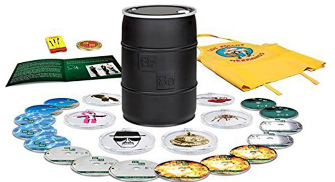 Deals Breaking Bad: The Complete Series Limited Edition 2014 Barrel