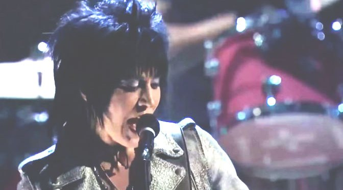 Joan Jett Gets Induction Into Rock and Roll Hall of Fame