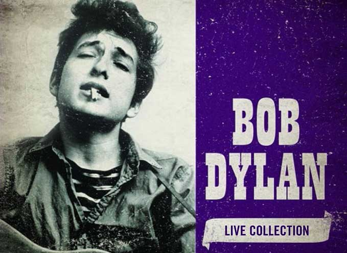 Bob Dylan Live Collection 5-CD Box Set Coming February 16 2015