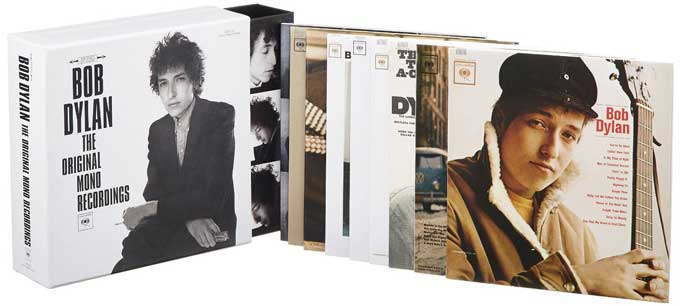 Bob Dylan The Original Mono Recordings Box Set at $97