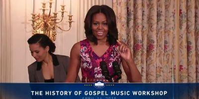 Michelle Obama Gospel Workshop