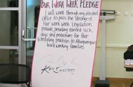 Fair Work Week Pledge