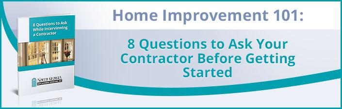 8 Questions to Ask Your Contractors