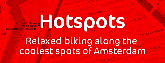 Rentalbike - Relaxed biking along the coolest spots of Amsterdam