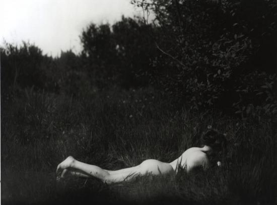 Imogen Cunningham: Selbstportraet (1906)