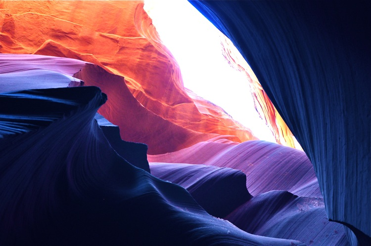 upper antelope canyons hike, page arizona