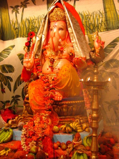 Celebrating Ganesh Chaturthi in Mumbai