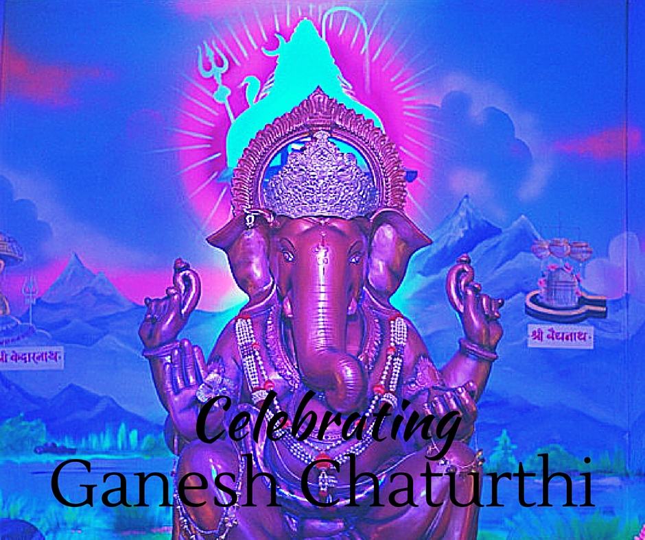 Celebrating Ganpati