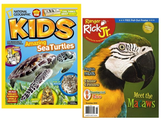 Kids Magazine Subscriptions - Gift Guide for Outdoor Kids