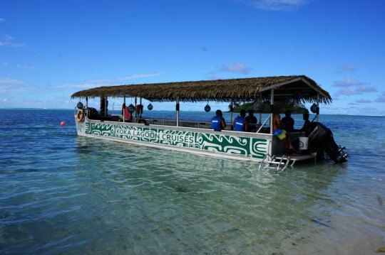 Glass Bottom Boat Tour - Guide to the Cook Islands with Kids